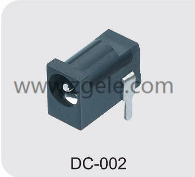 High quality soldering dc power plug supplier,DC-002