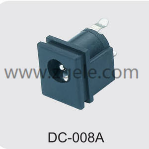 cheap waterproof dc power jack discount,DC-008A
