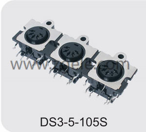 china mini din power connector manufactures