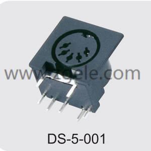 Hoë kwaliteit mini din connector afslag, DS-5-001