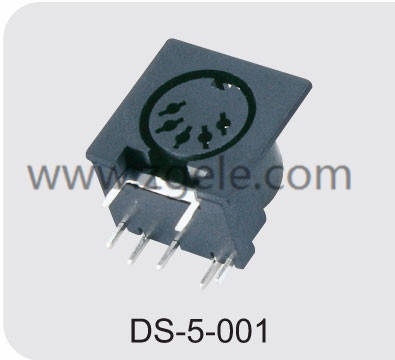 High quality mini din connector discount,DS-5-001