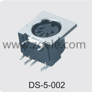 china 5 pin din socket supplier,DS-5-002