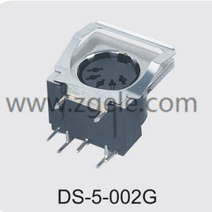 custom-made 2 pin din speaker connector manufactures,DS-5-002G