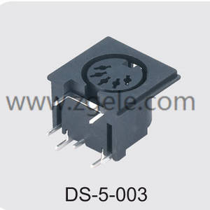 High quality 4 pin din power cable supplier,DS-5-003