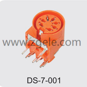High quality 5 pin din socket supplier,DS-7-001