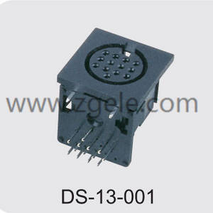 High quality 8 pin mini din connector manufactures,DS-13-001