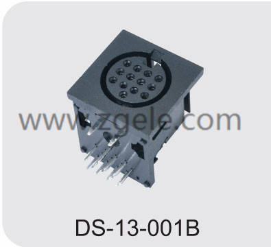 china amphenol din connector supplier,DS-13-001B