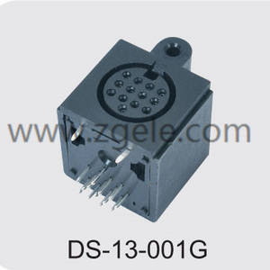 custom-made din connector pinout supplier,DS-13-001G