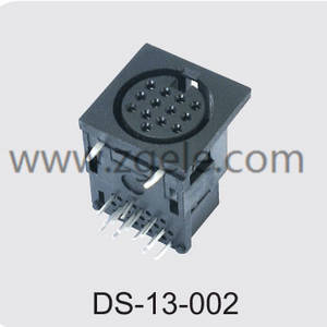 High quality mini din manufactures,DS-13-002
