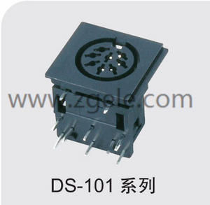 Low price square din connector discount
