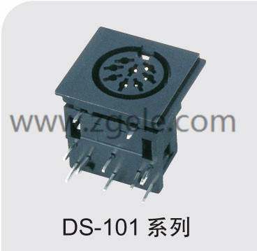 Low price square din connector discount,DS-101