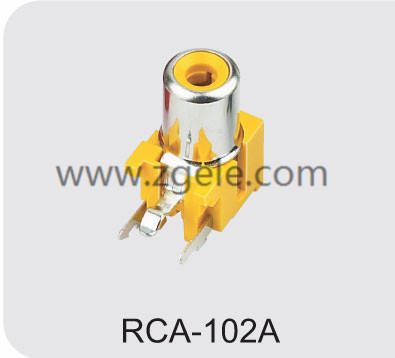 High quality radio connector manufactures,RCA-102A