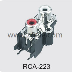 High quality rca to aux adapter factory,RCA-223