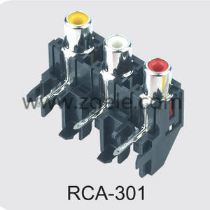 china solderless rca connector factory,RCA-301