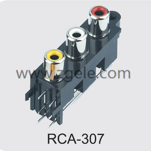 china audio jack cable manufactures,RCA-307