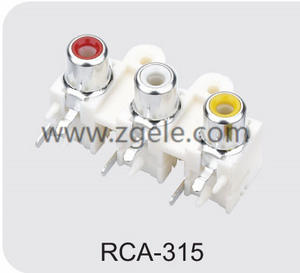 Customized rca to audio jack supplier