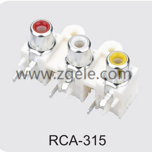 Customized rca to audio jack supplier,RCA-315