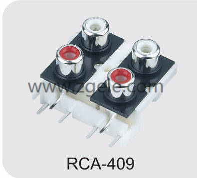 Low price standard rca cable supplier,RCA-409