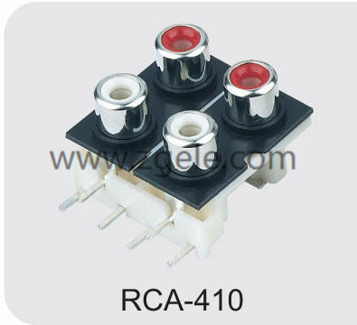 High quality asus laptop power jack supplier,RCA-410