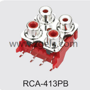Low price bnc to rca converter manufactures,RCA-413PB