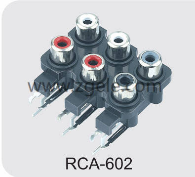 wholesale mini jack to rca adapter exportes,RCA-602