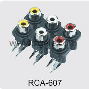 Low price types of rca cables exportes,RCA-607