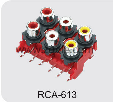 Low price rca jack supplier,RCA-613