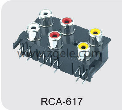 custom-made rca jack connector brands,RCA-617