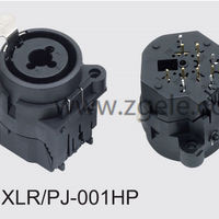 Low price tv connector factory,XLR-PJ-001HP