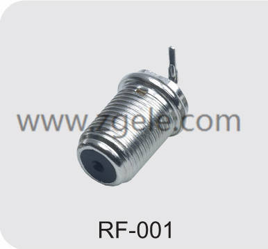 High quality f- connector factory,RF-001