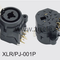Low price cannon plug supplier,XLR-PJ-001P