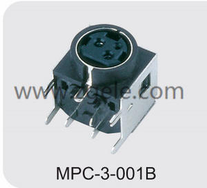 High quality 3 pin din female connector manufactures
