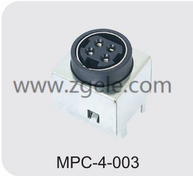 High quality micro din connector supplier,MPC-4-003