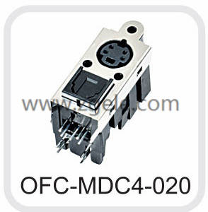 custom-made fiber ost fiber connector supplier,OFC-MDC4-020
