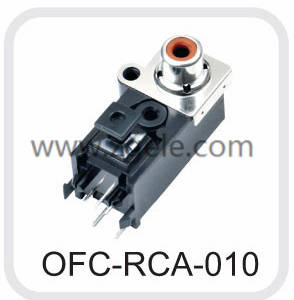 High quality audio connector types supplier,OFC-RCA-010