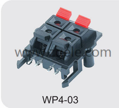 Low price wp push terminal factory,WP4-03
