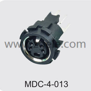 Low price 4 pin round connector supplier,MDC-4-013