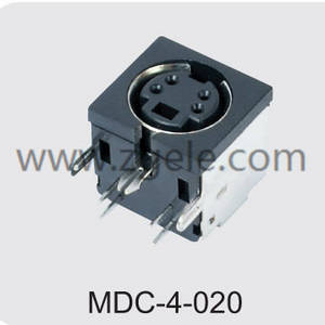 custom-made 6 pin din connector male manufactures,MDC-4-020