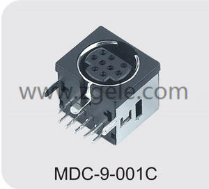 Low price 10 pin din connector power supply factory