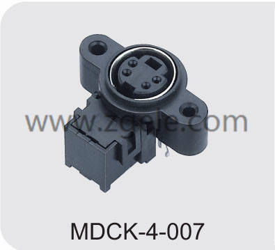 Customized square din connector agency,MDCK-4-007