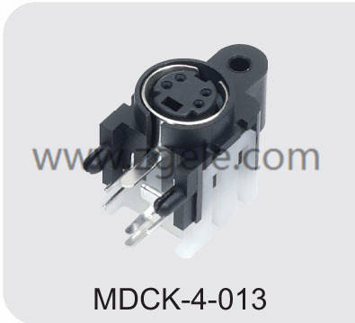 High quality 4 pin round connector supplier,MDCK-4-013