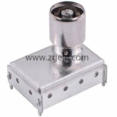 Antenna male crimp-on coaxial RF connector IF ANTENNAL JACK SERIES IF-100,IF-014