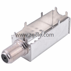 Antenna male crimp-on coaxial RF connector IF ANTENNAL JACK SERIES IF-100