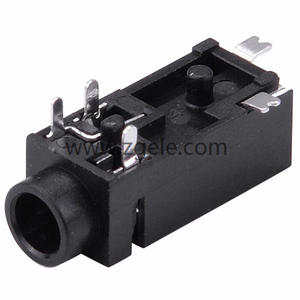 custom-made 2.5mm DIP 3 pin jack metal phone jack connector socket 2.5 audio jack supplier