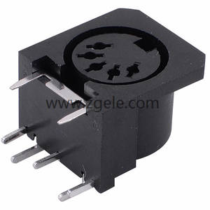 5pin Triple Din Connector for Video,DS-5-005