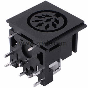 8pin mini din connector electrical connector,DS-8-108