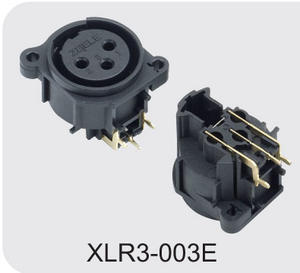 Low price XLR Male Cannon Connector for Loudspeaker factory