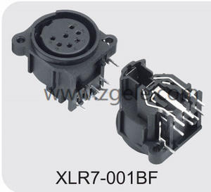 custom-made XLR Audio Combo Socket by Metal Ring supplier