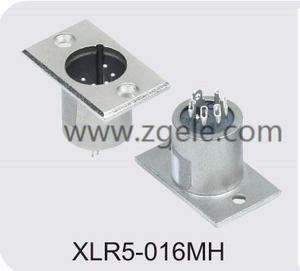 Low price speaker socket XLR Connector exportes
