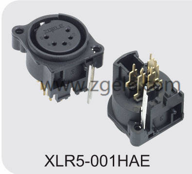 High quality Audio Connector For Stage supplier,XLR5-001HAE